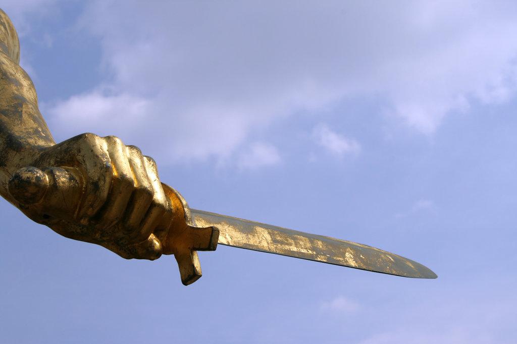 Goldenes Schwert